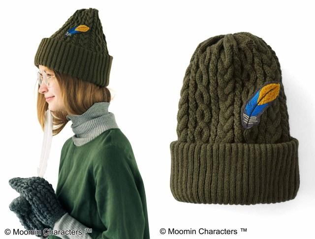 【ムーミン】かぶればスナフキンになれそうなニット帽が素敵! ムーミンのファッションアイテムが可愛さ満点です