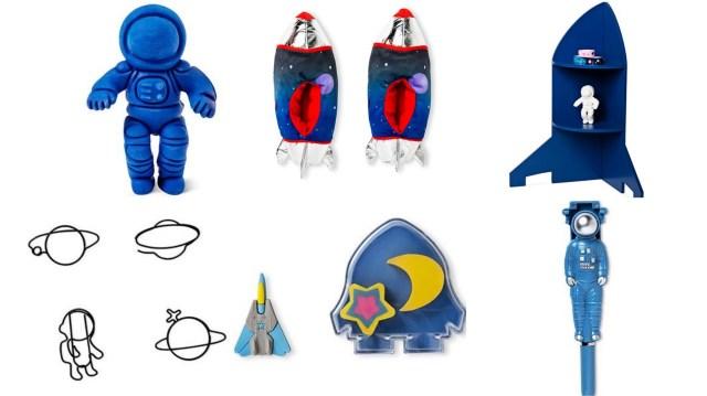 フライング タイガー コペンハーゲンの「宇宙グッズ」が絶妙なかわいさ! 「ロケット型スリッパ」に「スペースシャトル消しゴム」など魅力的なアイテムばかりだよ