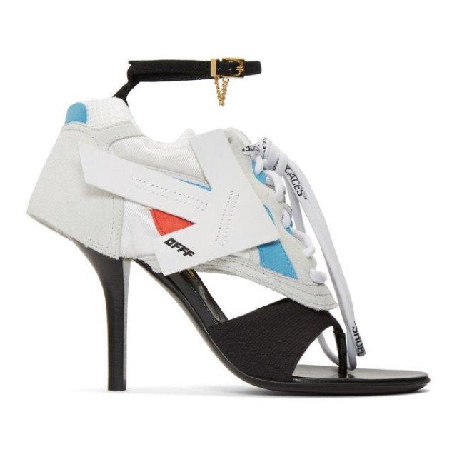 スニーカーみたいな顔して実は「ヒールサンダル」! ギャップありすぎで3度見必至の靴がコチラです