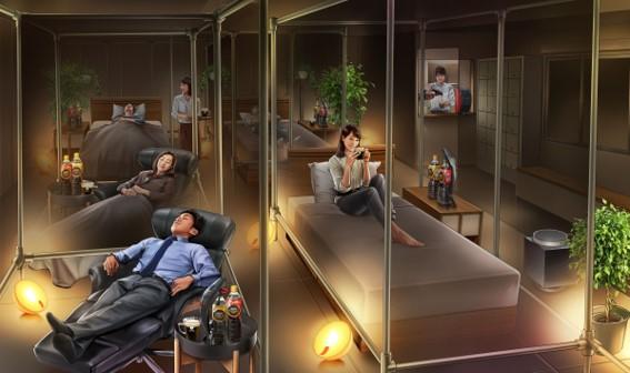 ちょっと休憩したいなら「睡眠カフェ」へ行こう♪ 好きなマットレスや枕も選べてコーヒーも楽しめます / 大井町「ネスカフェ 睡眠カフェ」