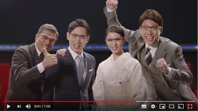 松岡修造が「ハズキルーペ」新CMに仲間入りしたけど…違和感ゼロ! 昔からいたかと錯覚するほどカオスな世界観になじんでいます
