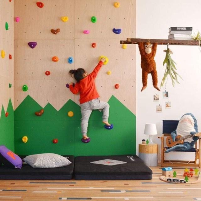 自宅でボルダリングが楽しめちゃう! 壁に取り付ける「ボルダリングパネル」でお部屋のイメージ一新しちゃお!!
