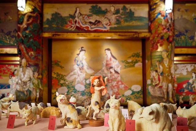 目黒・雅叙園で猫だらけの展覧会を開催! 昭和、平成と時代を超えた猫作品が3000点以上も大集合!?