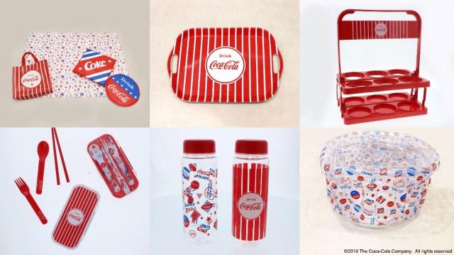 3COINSの「コカ・コーラ」アイテムがめちゃカワイイ〜っ!お花見やランチで使いたくなるアイテムが目白押しです!