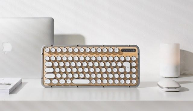 タイプライターのような打感とスタイリッシュなデザインのキーボードが日本上陸! 使いやすさも細部まで工夫されてます