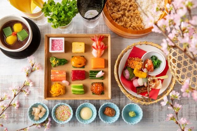 ヒルトン東京からひとりでも楽しめる「手巻きすしパーティー」が登場! 目にも鮮やかなお寿司にうっとりするよ♪