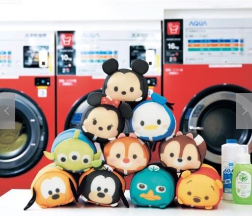 洗濯機でツムツムしちゃえ! ディズニーキャラたちの「洗濯ネット」がツムツムみたいで可愛さ満点だぞ♡