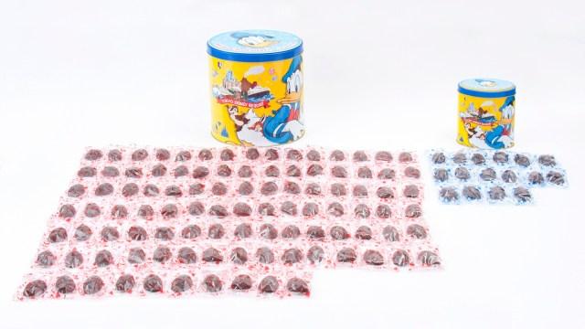 【最高】ディズニーの大人気土産「チョコレートクランチ」に100粒入りが仲間入りだよぉおおお☆ いっぱい食べられるしバラマキ用にもピッタリです!