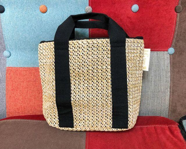 『ステディ』6月号の付録は「AG バイ アクアガール」のかごバッグだよ! 絶妙なサイズ感&上品デザインで大人女性にも持ちやすい!!