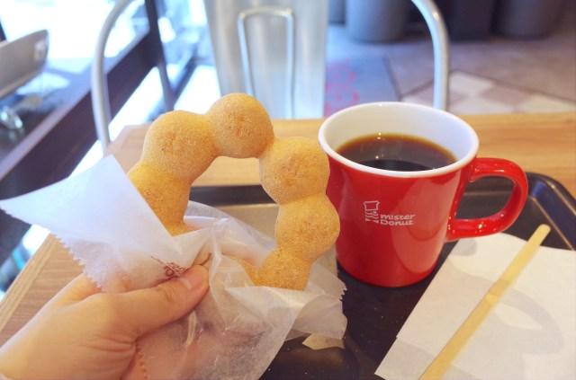朝からドーナツを食べるって意外と楽しい! ミスドにモーニングセットがあるって知ってた?