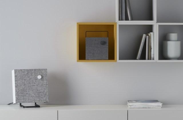 イケア初のBluetoothスピーカー「エネビー」がシンプル&スタイリッシュ! 布製カバーで印象を変えることができるよ