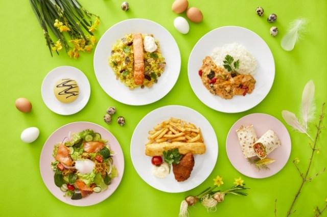 イケアレストランに「空飛ぶヤコブさん」が登場したよ〜! 鶏肉とバナナを使った北欧料理です