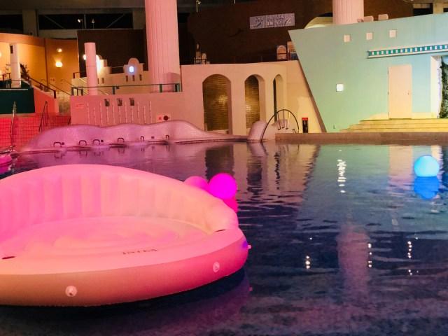 【体験】箱根小涌園ユネッサンでナイトプールを楽しめる! 全室露天風呂つきの「箱根小涌園 天悠」は記念日プランが充実した極上温泉だった…!