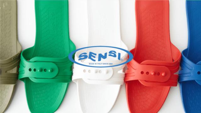 イタリア発の折りたたみサンダル「SENSI」が旅行に便利な予感♪ 軽くてコンパクトで機内やビーチでも使えます