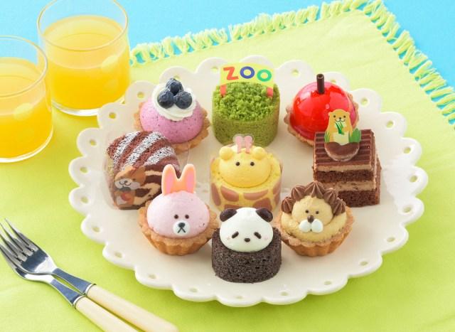 コージーコーナーが動物園みたいなプチケーキを発売! かぶとをかぶったクマのホールケーキもこれまたキュートなのです★