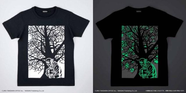 暗闇で光る『モチモチの木』Tシャツのこだわりがスゴイ…ストーリーを忠実に再現しています