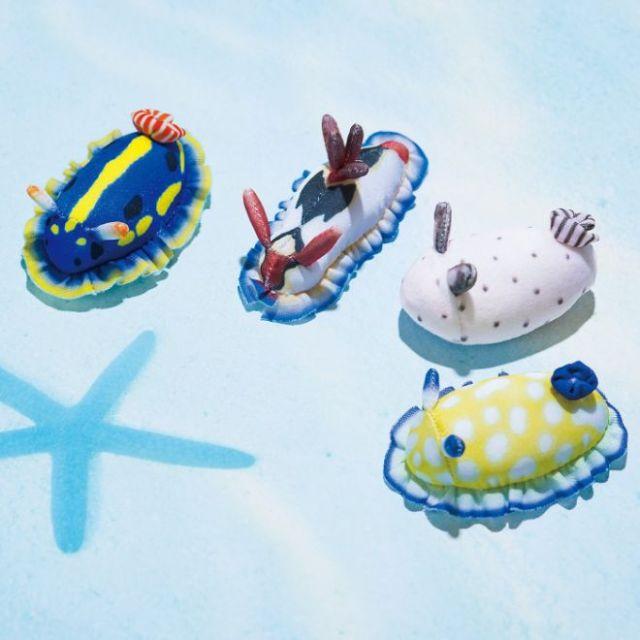 海の生物「ウミウシ」がほこり取りクリーナーに! 色とりどりな癒し系ビジュアルにお掃除が楽しくなっちゃいそう