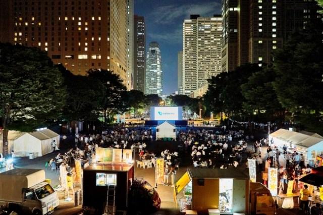 【無料】新宿中央公園で野外映画イベントが開催されるよ~! 『ザ・グレイテスト・ショーマン』など話題作をビール片手に楽しめます♪