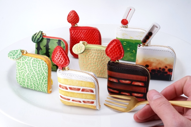 タピオカミルクティーやケーキの「小銭入れ」が食べちゃいたいほど可愛いっ!! ファスナーがストローやチェリーになってるよ♡