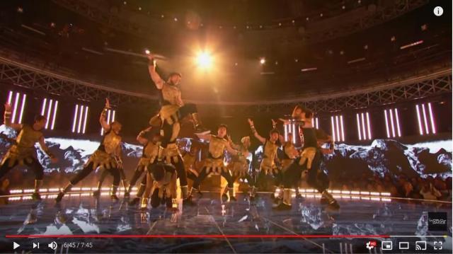 【興奮】ダンスバトル番組で優勝したインドのグループがスゴテクすぎる! すさまじいアクロバットの連続でアドレナリンでまくりです