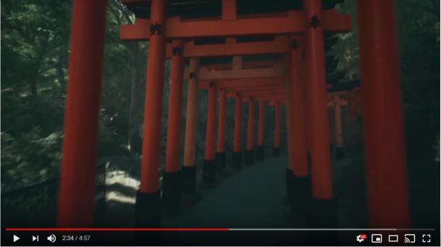 京都の伏見稲荷大社を散策しているみたい! 癒やし系ゲームで旅行気分を味わっちゃお♪