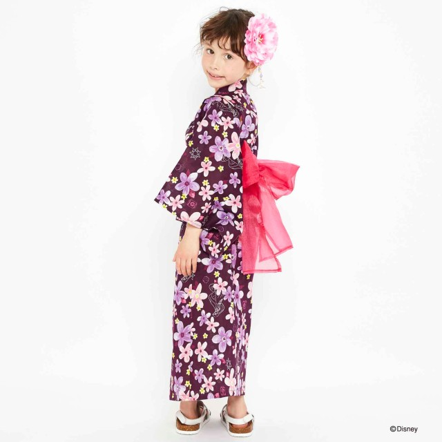 ライトオンから女の子向け「ディズニープリンセス浴衣」4柄が登場! オシャレで洗練された雰囲気&ワンピースタイプで着付け不要です