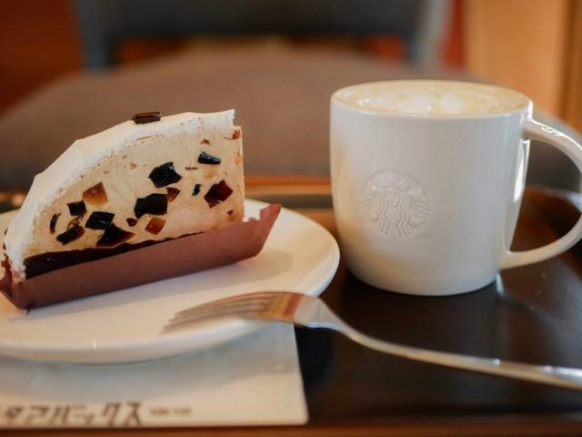 スタバの純喫茶風グルメにうっとり。 「珈琲ゼリーケーキ」と「ウィンナー珈琲」が心地よい美味しさです