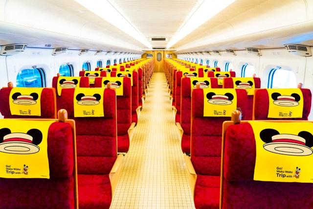 【JR九州】ミッキーマウスとのコラボ新幹線、出発進行! 車体も車内もミッキー仕様で九州の旅をワックワクにさせてくれるよ