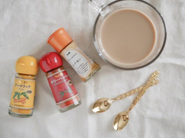 いつものカフェオレにちょい足しするだけ! UCC公式レシピのスパイスアレンジが簡単楽しいぞーー!