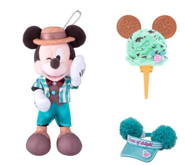 東京ディズニーリゾートにアイスをモチーフにした新グッズが登場☆ こすると甘~い香りがするうちわもあるよ