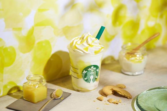 スタバの新作フラペは「レモン ヨーグルト 発酵フラペチーノ」! レモンソースの隠し味に甘酒が使われてるよ