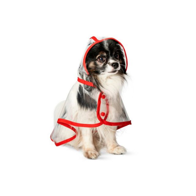 フライングタイガーコペンハーゲンの「ペット用レインコート」がかわいい! なぜか犬目線の紹介文にもグッときます