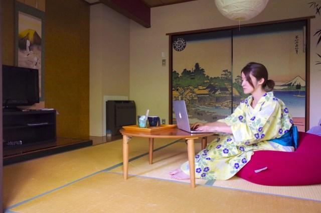 【文豪気分】温泉旅館のユニークなサービス「大人の原稿執筆パック」を体験してみた! The Ryokan Tokyo YUGAWARA