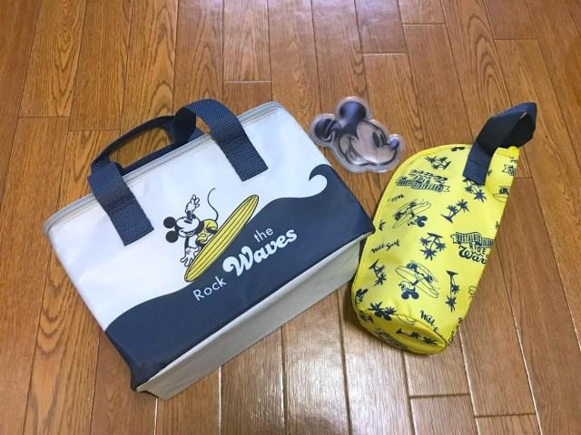 「スプリング8月号」の付録は「ミッキーマウス 夏の保冷3点セット」! アウトドアに役立ちそうなバッグ・ドリンクホルダー・保冷剤が付いてきます♪