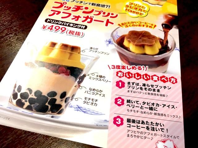 【タピ活】凍らせたプッチンプリン × もちもちタピオカをバーミヤンで食べてみた! 美味しいけど思わぬ落とし穴が…!