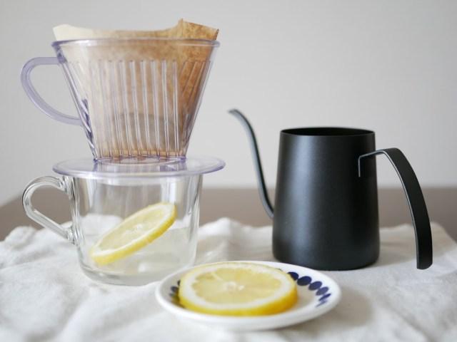 スタバ公式レシピ「レモンアイスコーヒー」を作ってみたよ! アイスコーヒーとレモンだけで完成します