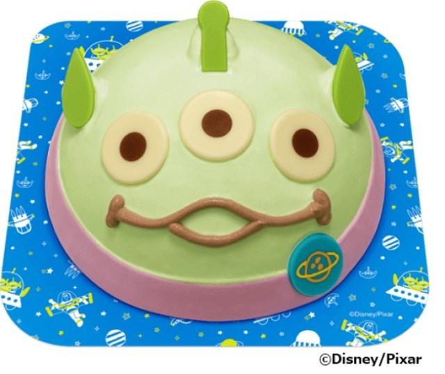 『トイ・ストーリー』のエイリアンがアイスクリームケーキになったよ~! 今にも喋りだしそうな見た目がキュートです