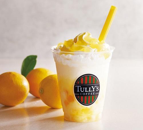 タリーズに瀬戸内エリア限定商品「ナタデココ瀬戸内レモンスワークル」が登場! 名産品の瀬戸内レモンとナタデココを使っているよ