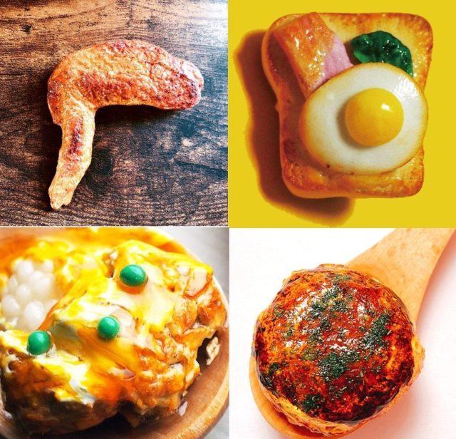 よだれ堂の「食品サンプルグッズ」がめちゃめちゃおいしそう~! カツ丼キーホルダーに目玉焼きトーストのブローチ…