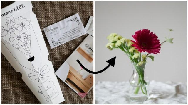 【1ヶ月体験レポ】1回500円でポストにお花を届けてくれる「お花の定期宅配サービス」が画期的! 手軽に花のある暮らしができちゃいます