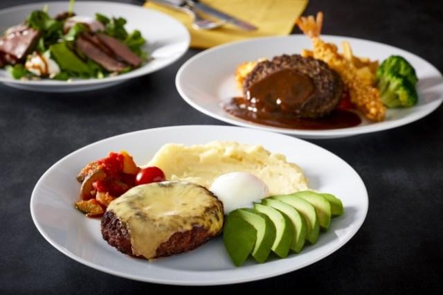 イケアレストラン「月見&肉フェア」がまるで大人のお子様ランチ! ハンバーグにチーズや玉子がのったメニューがたまりません♪
