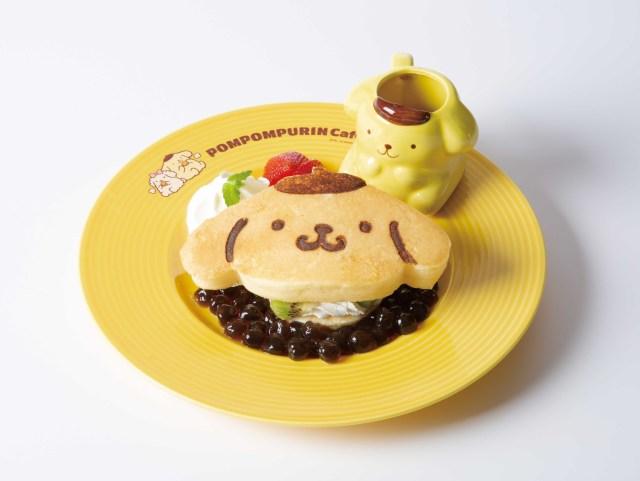 ポムポムプリンカフェでタピ活できる! キュートなパンケーキやパフェでもりもりタピオカを食べれるよ〜