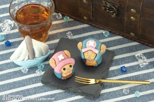 『ONE PIECE』のチョッパーが和菓子になってセブンイレブンに登場! 「頂上戦争」前と後の姿がモチーフになっているよ