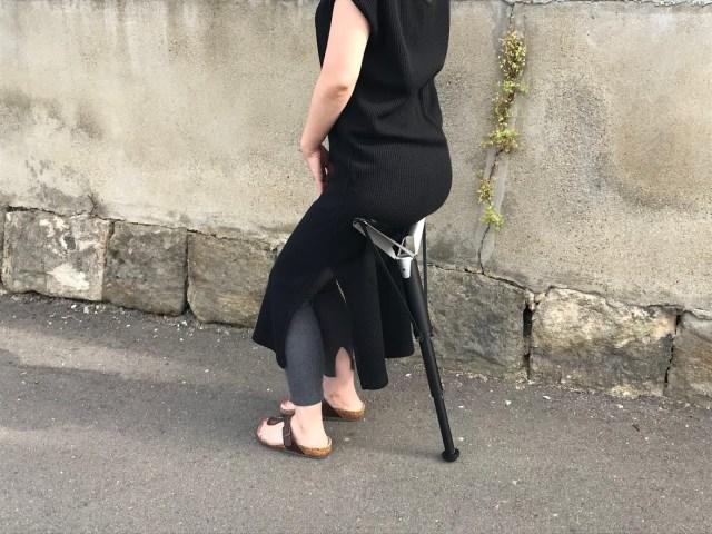 【ガチ体験】ポケットサイズの折り畳みイス「Sitpack ZEN」を使って感じたメリット・デメリット