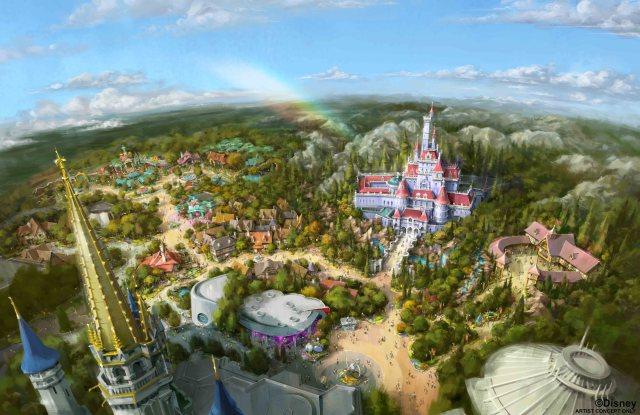東京ディズニーランドの新エリアが2020年4月15日にオープン! 『美女と野獣』や『ベイマックス』の世界を堪能できます