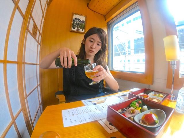 女ひとり「レストラン列車」の旅をしてみたら…充実っぷりに感動! 食・観光・景色を一気に体験できるなんて知らなかったよっ!