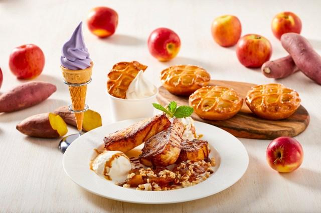イケアレストランに紅芋ソフトやフレンチトーストが! 旬のリンゴやサツマイモを使ったデザートフェアがスタートしたよ