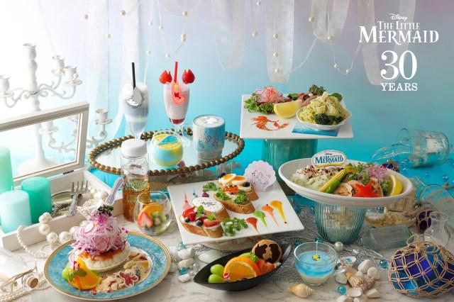 『リトル・マーメイド』のコラボカフェがオープン! ロマンティックな海の世界観を料理とグッズで楽しめます