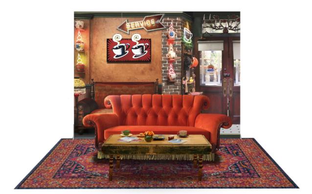 伝説の海外ドラマ「フレンズ」のコラボカフェが銀座ロフトに登場! みんなが集まるカフェのセットで写真も撮れちゃうよ〜‼︎