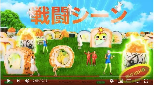 ウクライナの寿司屋の15秒CMがカオスすぎる! 不思議な日本語と「オイスィーーイ!」のフレーズが頭から離れなくなるよっ!